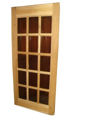 Door French 15 Lite Panel